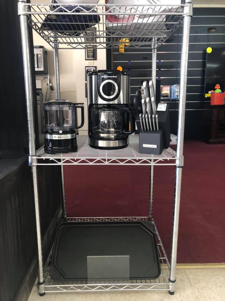 Sarabia - Boyce wedding registry coffee maker, griddle
