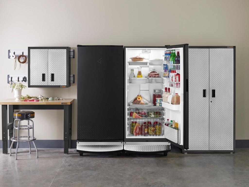 Gladiator Freezer and Refrigerator GAFZ30FDGB